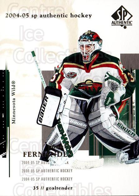2004-05 SP Authentic #45 Manny Fernandez<br/>6 In Stock - $1.00 each - <a href=https://centericecollectibles.foxycart.com/cart?name=2004-05%20SP%20Authentic%20%2345%20Manny%20Fernandez...&quantity_max=6&price=$1.00&code=123942 class=foxycart> Buy it now! </a>