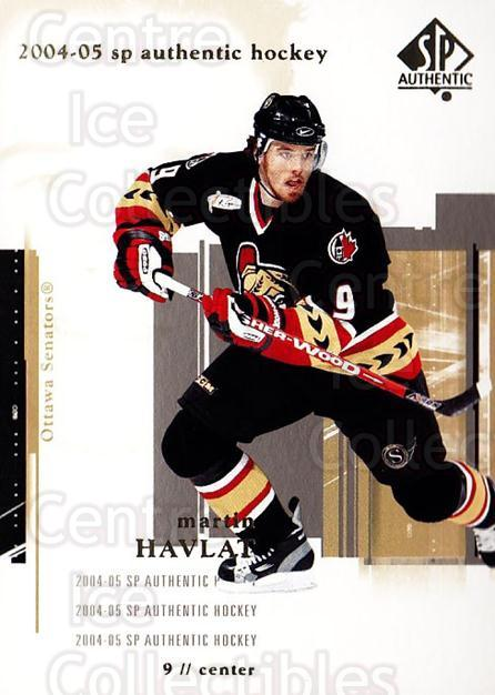 2004-05 SP Authentic #63 Martin Havlat<br/>6 In Stock - $1.00 each - <a href=https://centericecollectibles.foxycart.com/cart?name=2004-05%20SP%20Authentic%20%2363%20Martin%20Havlat...&quantity_max=6&price=$1.00&code=123962 class=foxycart> Buy it now! </a>