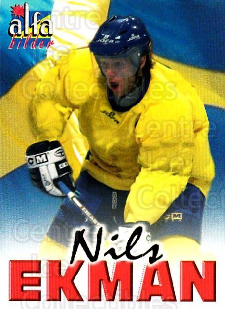 2004-05 Swedish Alfabilder Alfa Stars #29 Nils Ekman<br/>5 In Stock - $2.00 each - <a href=https://centericecollectibles.foxycart.com/cart?name=2004-05%20Swedish%20Alfabilder%20Alfa%20Stars%20%2329%20Nils%20Ekman...&quantity_max=5&price=$2.00&code=124030 class=foxycart> Buy it now! </a>