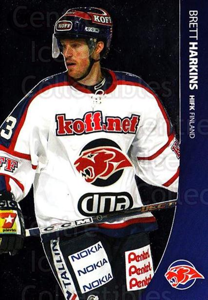 2004-05 Swedish Pure Skills #107 Brett Harkins<br/>5 In Stock - $2.00 each - <a href=https://centericecollectibles.foxycart.com/cart?name=2004-05%20Swedish%20Pure%20Skills%20%23107%20Brett%20Harkins...&quantity_max=5&price=$2.00&code=124207 class=foxycart> Buy it now! </a>
