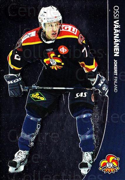 2004-05 Swedish Pure Skills #118 Ossi Vaananen<br/>4 In Stock - $2.00 each - <a href=https://centericecollectibles.foxycart.com/cart?name=2004-05%20Swedish%20Pure%20Skills%20%23118%20Ossi%20Vaananen...&quantity_max=4&price=$2.00&code=124218 class=foxycart> Buy it now! </a>