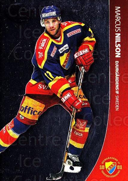 2004-05 Swedish Pure Skills #12 Marcus Nilson<br/>7 In Stock - $2.00 each - <a href=https://centericecollectibles.foxycart.com/cart?name=2004-05%20Swedish%20Pure%20Skills%20%2312%20Marcus%20Nilson...&quantity_max=7&price=$2.00&code=124220 class=foxycart> Buy it now! </a>