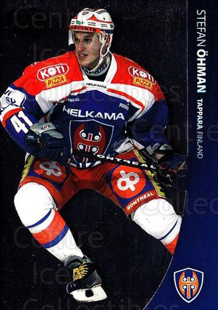 2004-05 Swedish Pure Skills #138 Stefan Ohman<br/>7 In Stock - $2.00 each - <a href=https://centericecollectibles.foxycart.com/cart?name=2004-05%20Swedish%20Pure%20Skills%20%23138%20Stefan%20Ohman...&quantity_max=7&price=$2.00&code=124234 class=foxycart> Buy it now! </a>