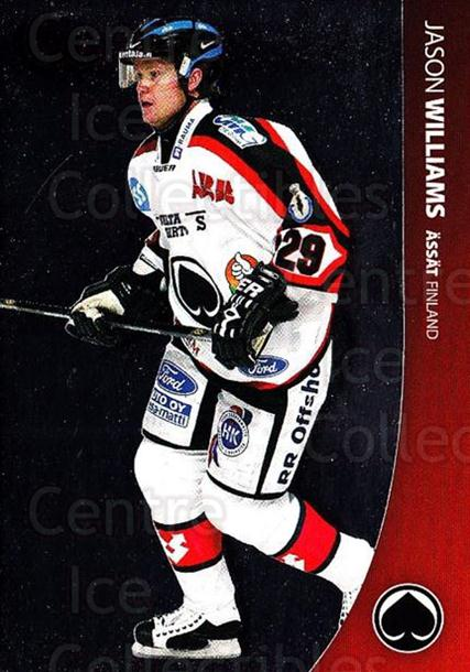 2004-05 Swedish Pure Skills #144 Jason Williams<br/>1 In Stock - $2.00 each - <a href=https://centericecollectibles.foxycart.com/cart?name=2004-05%20Swedish%20Pure%20Skills%20%23144%20Jason%20Williams...&quantity_max=1&price=$2.00&code=124239 class=foxycart> Buy it now! </a>