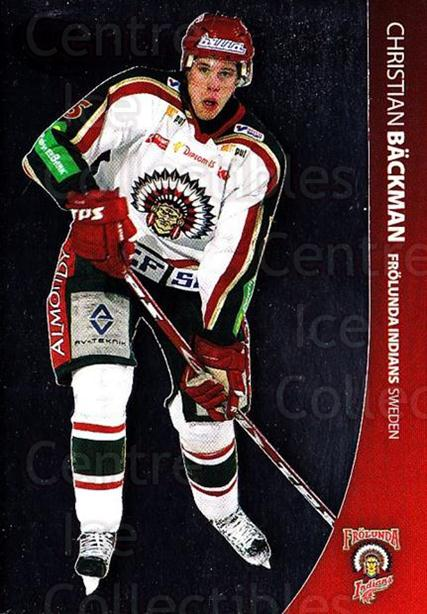 2004-05 Swedish Pure Skills #18 Christian Backman<br/>5 In Stock - $2.00 each - <a href=https://centericecollectibles.foxycart.com/cart?name=2004-05%20Swedish%20Pure%20Skills%20%2318%20Christian%20Backm...&quantity_max=5&price=$2.00&code=124242 class=foxycart> Buy it now! </a>