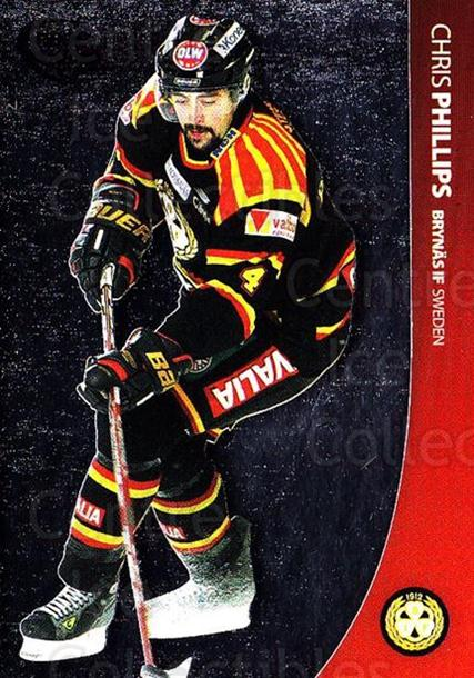 2004-05 Swedish Pure Skills #2 Chris Phillips<br/>7 In Stock - $2.00 each - <a href=https://centericecollectibles.foxycart.com/cart?name=2004-05%20Swedish%20Pure%20Skills%20%232%20Chris%20Phillips...&quantity_max=7&price=$2.00&code=124244 class=foxycart> Buy it now! </a>