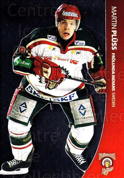 2004-05 Swedish Pure Skills #22 Martin Pluss<br/>6 In Stock - $2.00 each - <a href=https://centericecollectibles.foxycart.com/cart?name=2004-05%20Swedish%20Pure%20Skills%20%2322%20Martin%20Pluss...&quantity_max=6&price=$2.00&code=124247 class=foxycart> Buy it now! </a>