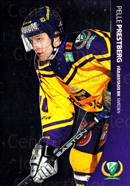 2004-05 Swedish Pure Skills #28 Pelle Prestberg<br/>7 In Stock - $2.00 each - <a href=https://centericecollectibles.foxycart.com/cart?name=2004-05%20Swedish%20Pure%20Skills%20%2328%20Pelle%20Prestberg...&quantity_max=7&price=$2.00&code=124251 class=foxycart> Buy it now! </a>