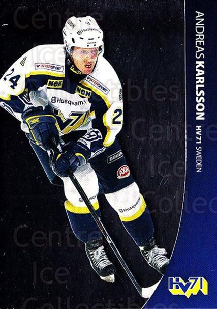 2004-05 Swedish Pure Skills #38 Andreas Karlsson<br/>7 In Stock - $2.00 each - <a href=https://centericecollectibles.foxycart.com/cart?name=2004-05%20Swedish%20Pure%20Skills%20%2338%20Andreas%20Karlsso...&quantity_max=7&price=$2.00&code=124261 class=foxycart> Buy it now! </a>