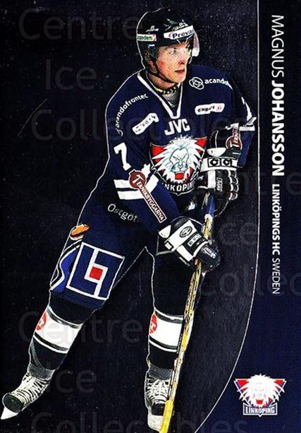 2004-05 Swedish Pure Skills #42 Magnus Johansson<br/>4 In Stock - $2.00 each - <a href=https://centericecollectibles.foxycart.com/cart?name=2004-05%20Swedish%20Pure%20Skills%20%2342%20Magnus%20Johansso...&quantity_max=4&price=$2.00&code=124266 class=foxycart> Buy it now! </a>