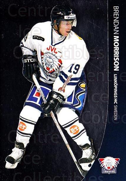 2004-05 Swedish Pure Skills #46 Brendan Morrison<br/>4 In Stock - $2.00 each - <a href=https://centericecollectibles.foxycart.com/cart?name=2004-05%20Swedish%20Pure%20Skills%20%2346%20Brendan%20Morriso...&quantity_max=4&price=$2.00&code=124270 class=foxycart> Buy it now! </a>