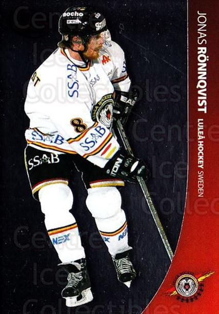 2004-05 Swedish Pure Skills #52 Jonas Ronnqvist<br/>7 In Stock - $2.00 each - <a href=https://centericecollectibles.foxycart.com/cart?name=2004-05%20Swedish%20Pure%20Skills%20%2352%20Jonas%20Ronnqvist...&quantity_max=7&price=$2.00&code=124277 class=foxycart> Buy it now! </a>