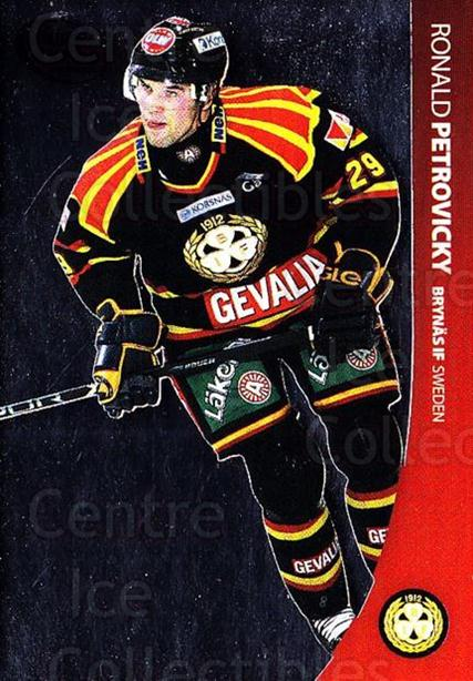 2004-05 Swedish Pure Skills #6 Ronald Petrovicky<br/>1 In Stock - $2.00 each - <a href=https://centericecollectibles.foxycart.com/cart?name=2004-05%20Swedish%20Pure%20Skills%20%236%20Ronald%20Petrovic...&quantity_max=1&price=$2.00&code=124284 class=foxycart> Buy it now! </a>