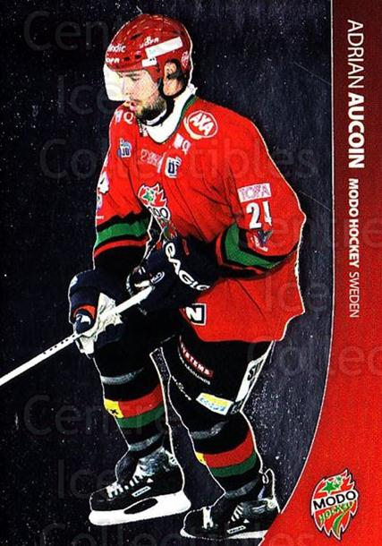 2004-05 Swedish Pure Skills #64 Adrian Aucoin<br/>7 In Stock - $2.00 each - <a href=https://centericecollectibles.foxycart.com/cart?name=2004-05%20Swedish%20Pure%20Skills%20%2364%20Adrian%20Aucoin...&quantity_max=7&price=$2.00&code=124288 class=foxycart> Buy it now! </a>