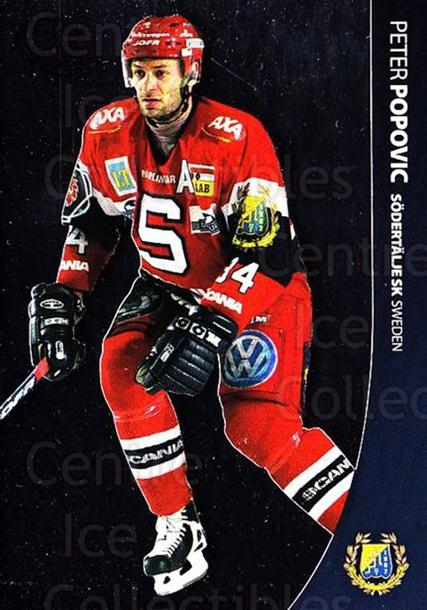 2004-05 Swedish Pure Skills #83 Peter Popovic<br/>7 In Stock - $2.00 each - <a href=https://centericecollectibles.foxycart.com/cart?name=2004-05%20Swedish%20Pure%20Skills%20%2383%20Peter%20Popovic...&quantity_max=7&price=$2.00&code=124308 class=foxycart> Buy it now! </a>