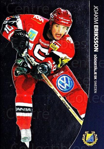 2004-05 Swedish Pure Skills #84 Joakim Eriksson<br/>6 In Stock - $2.00 each - <a href=https://centericecollectibles.foxycart.com/cart?name=2004-05%20Swedish%20Pure%20Skills%20%2384%20Joakim%20Eriksson...&quantity_max=6&price=$2.00&code=124309 class=foxycart> Buy it now! </a>
