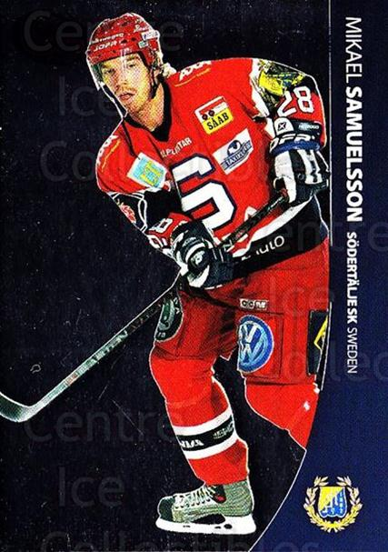 2004-05 Swedish Pure Skills #86 Mikael Samuelsson<br/>6 In Stock - $2.00 each - <a href=https://centericecollectibles.foxycart.com/cart?name=2004-05%20Swedish%20Pure%20Skills%20%2386%20Mikael%20Samuelss...&quantity_max=6&price=$2.00&code=124311 class=foxycart> Buy it now! </a>