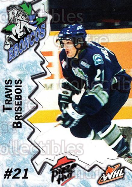 2004-05 Swift Current Broncos #1 Travis Brisebois<br/>10 In Stock - $3.00 each - <a href=https://centericecollectibles.foxycart.com/cart?name=2004-05%20Swift%20Current%20Broncos%20%231%20Travis%20Briseboi...&quantity_max=10&price=$3.00&code=124323 class=foxycart> Buy it now! </a>