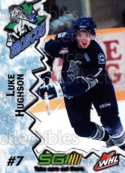 2004-05 Swift Current Broncos #8 Luke Hughson<br/>10 In Stock - $3.00 each - <a href=https://centericecollectibles.foxycart.com/cart?name=2004-05%20Swift%20Current%20Broncos%20%238%20Luke%20Hughson...&quantity_max=10&price=$3.00&code=124343 class=foxycart> Buy it now! </a>