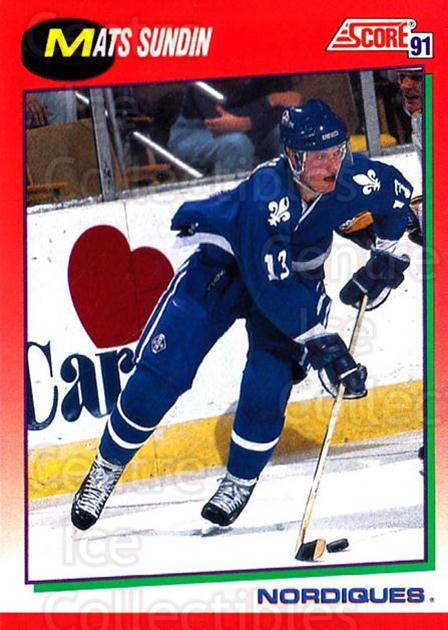 1991-92 Score Canadian English #130 Mats Sundin<br/>3 In Stock - $1.00 each - <a href=https://centericecollectibles.foxycart.com/cart?name=1991-92%20Score%20Canadian%20English%20%23130%20Mats%20Sundin...&quantity_max=3&price=$1.00&code=12489 class=foxycart> Buy it now! </a>