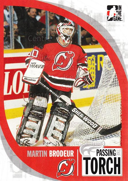 2005-06 ITG Passing the Torch #8 Martin Brodeur<br/>3 In Stock - $2.00 each - <a href=https://centericecollectibles.foxycart.com/cart?name=2005-06%20ITG%20Passing%20the%20Torch%20%238%20Martin%20Brodeur...&price=$2.00&code=124903 class=foxycart> Buy it now! </a>