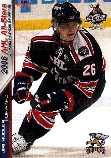 2005-06 AHL AS #14 Jiri Hudler<br/>4 In Stock - $3.00 each - <a href=https://centericecollectibles.foxycart.com/cart?name=2005-06%20AHL%20AS%20%2314%20Jiri%20Hudler...&price=$3.00&code=124927 class=foxycart> Buy it now! </a>