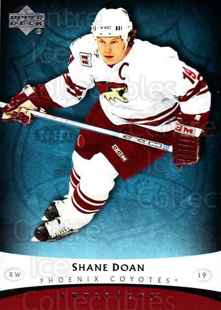 2005-06 UD Artifacts #79 Shane Doan<br/>5 In Stock - $1.00 each - <a href=https://centericecollectibles.foxycart.com/cart?name=2005-06%20UD%20Artifacts%20%2379%20Shane%20Doan...&quantity_max=5&price=$1.00&code=125197 class=foxycart> Buy it now! </a>
