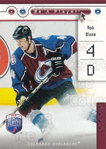 2005-06 Be A Player #22 Rob Blake<br/>4 In Stock - $1.00 each - <a href=https://centericecollectibles.foxycart.com/cart?name=2005-06%20Be%20A%20Player%20%2322%20Rob%20Blake...&quantity_max=4&price=$1.00&code=125251 class=foxycart> Buy it now! </a>
