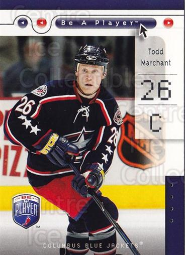 2005-06 Be A Player #26 Todd Marchant<br/>4 In Stock - $1.00 each - <a href=https://centericecollectibles.foxycart.com/cart?name=2005-06%20Be%20A%20Player%20%2326%20Todd%20Marchant...&quantity_max=4&price=$1.00&code=125255 class=foxycart> Buy it now! </a>