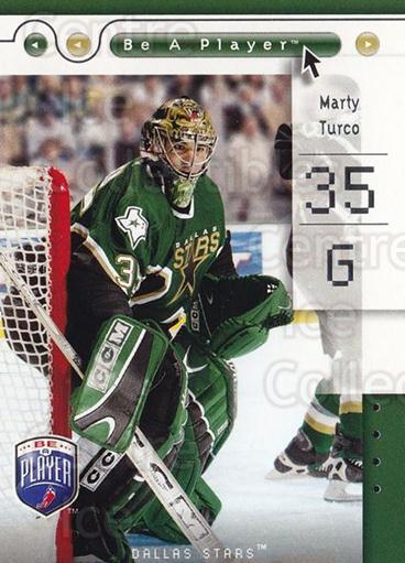 2005-06 Be A Player #27 Marty Turco<br/>4 In Stock - $1.00 each - <a href=https://centericecollectibles.foxycart.com/cart?name=2005-06%20Be%20A%20Player%20%2327%20Marty%20Turco...&quantity_max=4&price=$1.00&code=125256 class=foxycart> Buy it now! </a>