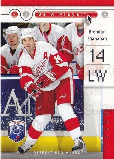 2005-06 Be A Player #30 Brendan Shanahan<br/>4 In Stock - $1.00 each - <a href=https://centericecollectibles.foxycart.com/cart?name=2005-06%20Be%20A%20Player%20%2330%20Brendan%20Shanaha...&quantity_max=4&price=$1.00&code=125260 class=foxycart> Buy it now! </a>