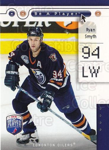 2005-06 Be A Player #35 Ryan Smyth<br/>4 In Stock - $1.00 each - <a href=https://centericecollectibles.foxycart.com/cart?name=2005-06%20Be%20A%20Player%20%2335%20Ryan%20Smyth...&quantity_max=4&price=$1.00&code=125264 class=foxycart> Buy it now! </a>
