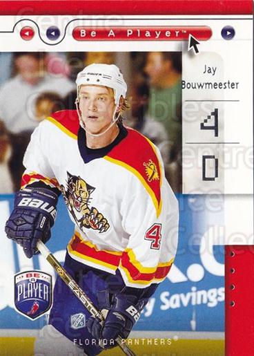 2005-06 Be A Player #40 Jay Bouwmeester<br/>4 In Stock - $1.00 each - <a href=https://centericecollectibles.foxycart.com/cart?name=2005-06%20Be%20A%20Player%20%2340%20Jay%20Bouwmeester...&quantity_max=4&price=$1.00&code=125270 class=foxycart> Buy it now! </a>