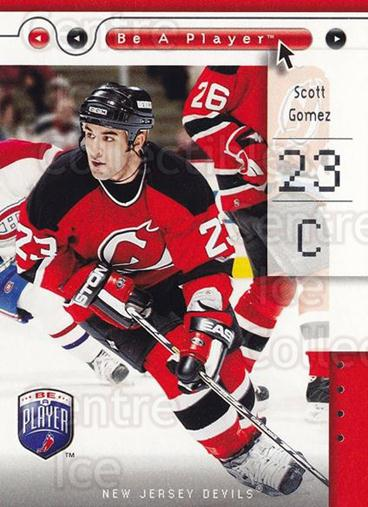 2005-06 Be A Player #54 Scott Gomez<br/>2 In Stock - $1.00 each - <a href=https://centericecollectibles.foxycart.com/cart?name=2005-06%20Be%20A%20Player%20%2354%20Scott%20Gomez...&quantity_max=2&price=$1.00&code=125284 class=foxycart> Buy it now! </a>