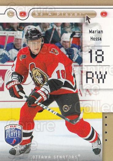 2005-06 Be A Player #61 Marian Hossa<br/>4 In Stock - $1.00 each - <a href=https://centericecollectibles.foxycart.com/cart?name=2005-06%20Be%20A%20Player%20%2361%20Marian%20Hossa...&quantity_max=4&price=$1.00&code=125292 class=foxycart> Buy it now! </a>