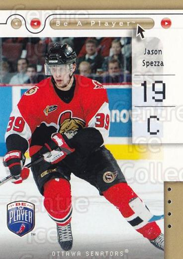 2005-06 Be A Player #62 Jason Spezza<br/>5 In Stock - $1.00 each - <a href=https://centericecollectibles.foxycart.com/cart?name=2005-06%20Be%20A%20Player%20%2362%20Jason%20Spezza...&quantity_max=5&price=$1.00&code=125293 class=foxycart> Buy it now! </a>