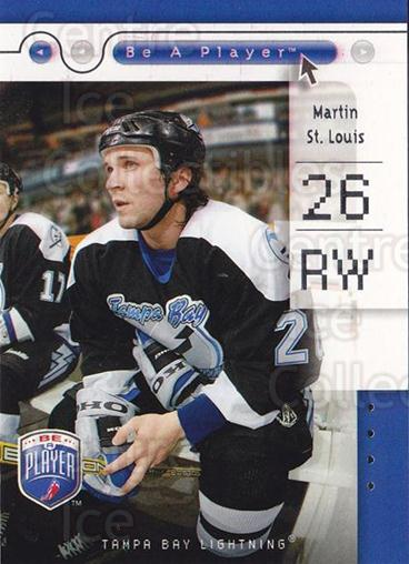 2005-06 Be A Player #79 Martin St. Louis<br/>4 In Stock - $1.00 each - <a href=https://centericecollectibles.foxycart.com/cart?name=2005-06%20Be%20A%20Player%20%2379%20Martin%20St.%20Loui...&quantity_max=4&price=$1.00&code=125309 class=foxycart> Buy it now! </a>