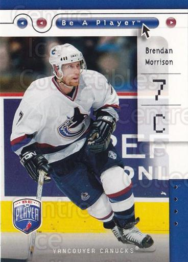 2005-06 Be A Player #88 Brendan Morrison<br/>4 In Stock - $1.00 each - <a href=https://centericecollectibles.foxycart.com/cart?name=2005-06%20Be%20A%20Player%20%2388%20Brendan%20Morriso...&quantity_max=4&price=$1.00&code=125319 class=foxycart> Buy it now! </a>