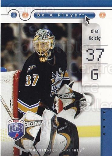 2005-06 Be A Player #90 Olaf Kolzig<br/>3 In Stock - $1.00 each - <a href=https://centericecollectibles.foxycart.com/cart?name=2005-06%20Be%20A%20Player%20%2390%20Olaf%20Kolzig...&quantity_max=3&price=$1.00&code=125322 class=foxycart> Buy it now! </a>