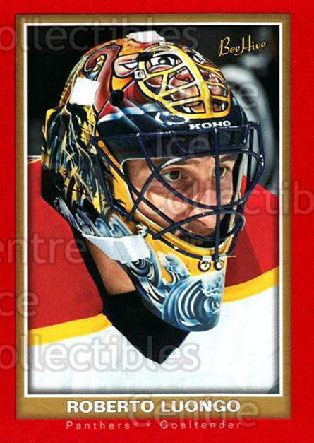 2005-06 Beehive Red #38 Roberto Luongo<br/>1 In Stock - $2.00 each - <a href=https://centericecollectibles.foxycart.com/cart?name=2005-06%20Beehive%20Red%20%2338%20Roberto%20Luongo...&quantity_max=1&price=$2.00&code=125412 class=foxycart> Buy it now! </a>
