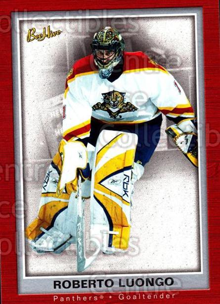 2005-06 Beehive #38 Roberto Luongo<br/>3 In Stock - $2.00 each - <a href=https://centericecollectibles.foxycart.com/cart?name=2005-06%20Beehive%20%2338%20Roberto%20Luongo...&quantity_max=3&price=$2.00&code=125462 class=foxycart> Buy it now! </a>