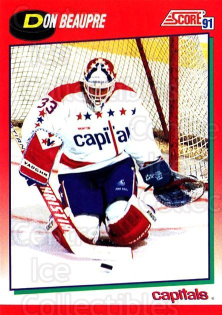 1991-92 Score Canadian English #185 Don Beaupre<br/>4 In Stock - $1.00 each - <a href=https://centericecollectibles.foxycart.com/cart?name=1991-92%20Score%20Canadian%20English%20%23185%20Don%20Beaupre...&quantity_max=4&price=$1.00&code=12548 class=foxycart> Buy it now! </a>