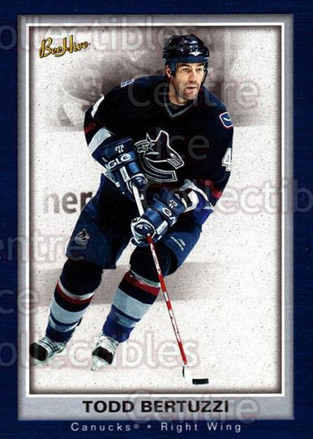 2005-06 Beehive #89 Todd Bertuzzi<br/>3 In Stock - $1.00 each - <a href=https://centericecollectibles.foxycart.com/cart?name=2005-06%20Beehive%20%2389%20Todd%20Bertuzzi...&quantity_max=3&price=$1.00&code=125515 class=foxycart> Buy it now! </a>