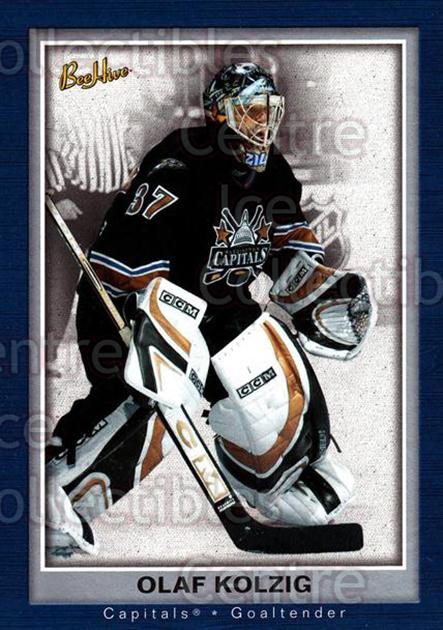 2005-06 Beehive #90 Olaf Kolzig<br/>2 In Stock - $1.00 each - <a href=https://centericecollectibles.foxycart.com/cart?name=2005-06%20Beehive%20%2390%20Olaf%20Kolzig...&quantity_max=2&price=$1.00&code=125517 class=foxycart> Buy it now! </a>