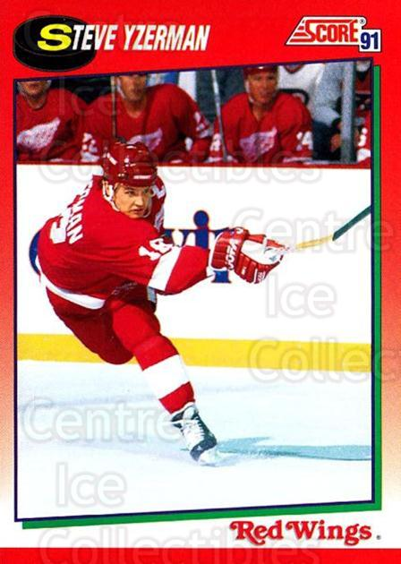 1991-92 Score Canadian English #190 Steve Yzerman<br/>2 In Stock - $1.00 each - <a href=https://centericecollectibles.foxycart.com/cart?name=1991-92%20Score%20Canadian%20English%20%23190%20Steve%20Yzerman...&price=$1.00&code=12554 class=foxycart> Buy it now! </a>