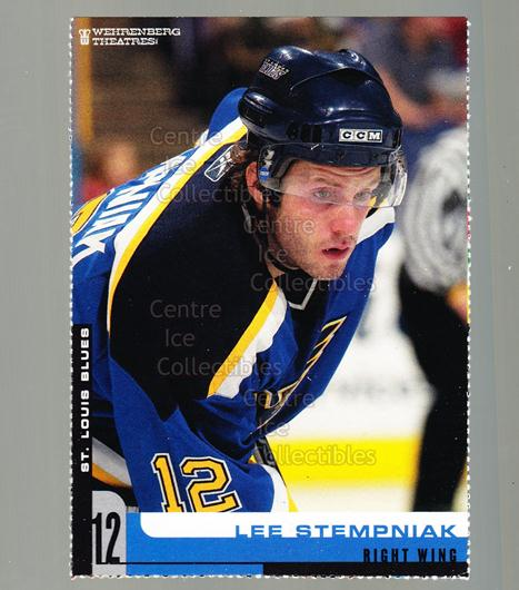 2005-06 St. Louis Blues Team Issued #18 Lee Stempniak<br/>3 In Stock - $3.00 each - <a href=https://centericecollectibles.foxycart.com/cart?name=2005-06%20St.%20Louis%20Blues%20Team%20Issued%20%2318%20Lee%20Stempniak...&quantity_max=3&price=$3.00&code=125705 class=foxycart> Buy it now! </a>