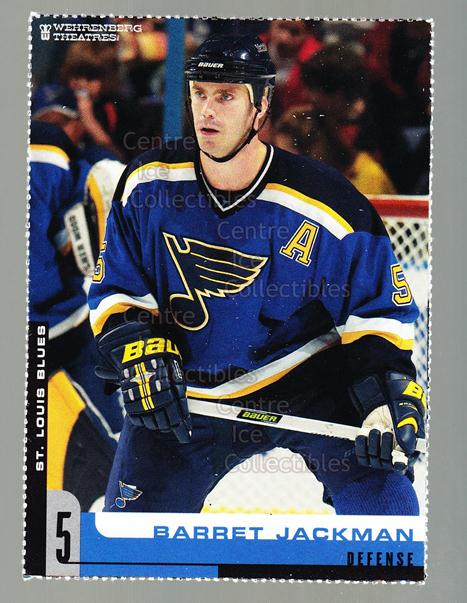 2005-06 St. Louis Blues Team Issued #8 Barret Jackman<br/>2 In Stock - $3.00 each - <a href=https://centericecollectibles.foxycart.com/cart?name=2005-06%20St.%20Louis%20Blues%20Team%20Issued%20%238%20Barret%20Jackman...&quantity_max=2&price=$3.00&code=125715 class=foxycart> Buy it now! </a>
