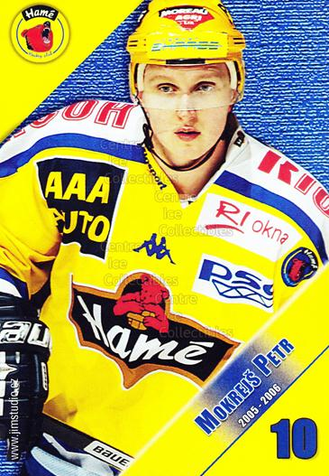 2005-06 Czech HC Hame Postcards #10 Petr Mokrejs<br/>1 In Stock - $3.00 each - <a href=https://centericecollectibles.foxycart.com/cart?name=2005-06%20Czech%20HC%20Hame%20Postcards%20%2310%20Petr%20Mokrejs...&quantity_max=1&price=$3.00&code=125772 class=foxycart> Buy it now! </a>