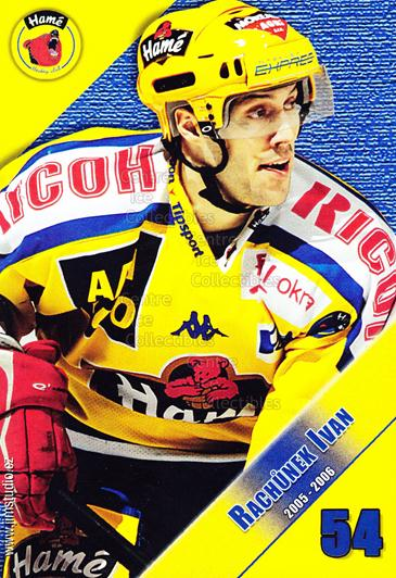2005-06 Czech HC Hame Postcards #14 Ivan Rachunek<br/>1 In Stock - $3.00 each - <a href=https://centericecollectibles.foxycart.com/cart?name=2005-06%20Czech%20HC%20Hame%20Postcards%20%2314%20Ivan%20Rachunek...&quantity_max=1&price=$3.00&code=125776 class=foxycart> Buy it now! </a>