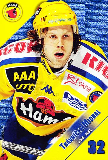 2005-06 Czech HC Hame Postcards #15 Michal Travnicek<br/>1 In Stock - $3.00 each - <a href=https://centericecollectibles.foxycart.com/cart?name=2005-06%20Czech%20HC%20Hame%20Postcards%20%2315%20Michal%20Travnice...&quantity_max=1&price=$3.00&code=125777 class=foxycart> Buy it now! </a>
